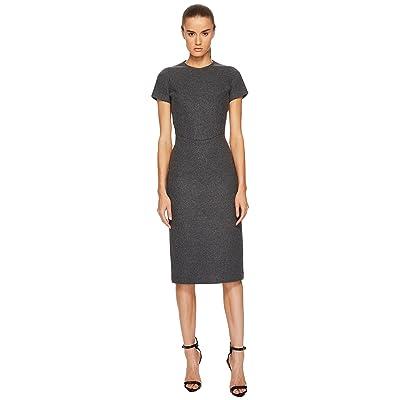 DSQUARED2 Amish Jersey Short Sleeve Dress (Grey Melange) Women