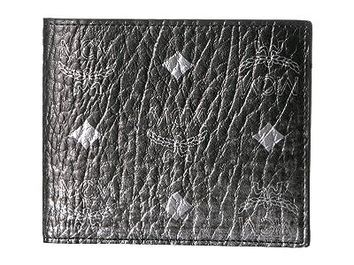 MCM Gradation Visetos Flap Wallet/Two-Fold Small (Silver) Handbags