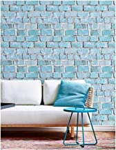 HaokHome 91003 3D Thick Peel and Stick Faux Brick Wallpaper 17.7