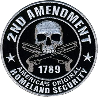 second amendment biker patches