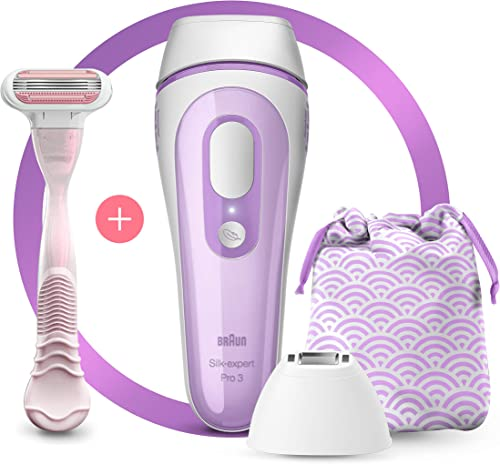 Braun Silk·expert Pro 3 PL3132 Latest Generation IPL, Permanent visible hair removal