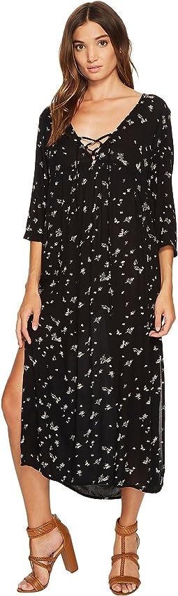 Majestic 3/4 Sleeve Maxi Dress