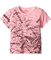 Burberry Kids - Mini Rea Scribble Tee (Little Kids/Big Kids)