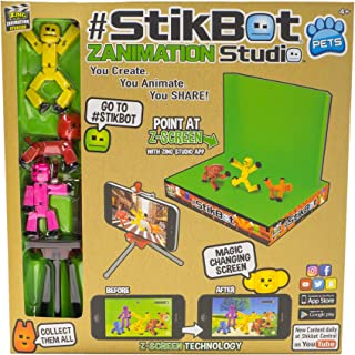 Zing TST617A Stikbot Action Figure - Assorted Colors