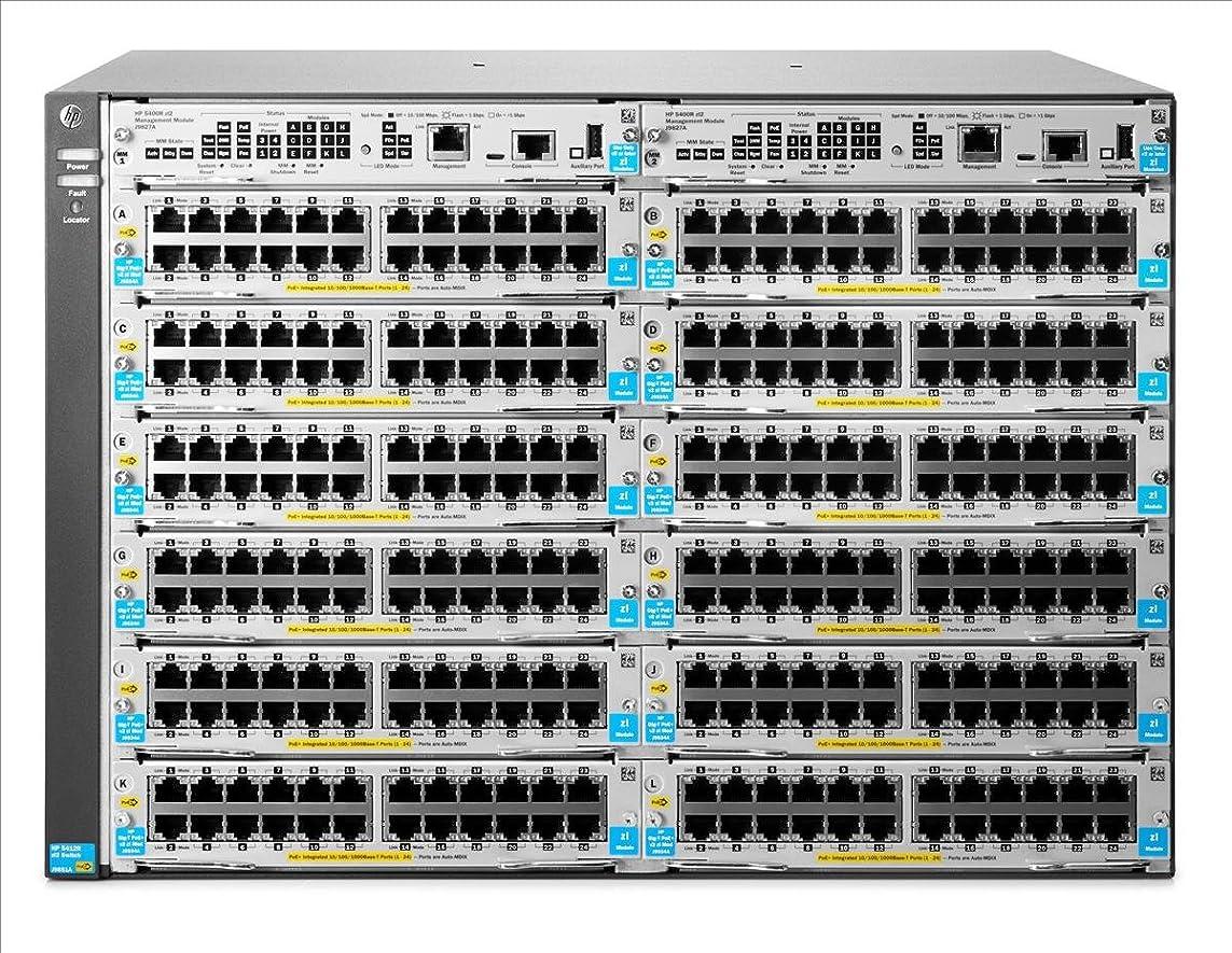 滝ほとんどの場合ステージ日本ヒューレットパッカード HPE Aruba 5412R zl2 Switch J9822A