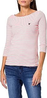TOM TAILOR Damen Stripe T-Shirt