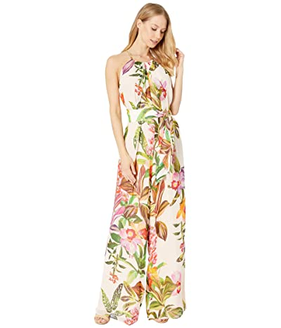 Trina Turk Jungle Jumpsuit (Flawless Beige) Women