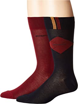 2-Pack Argyle Dress Socks