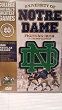 College Football's Greatest Games: University of Notre Dame Fighting Irish Collector's Edition (1966 Regular Season, Michigan State vs. Notre Dame)