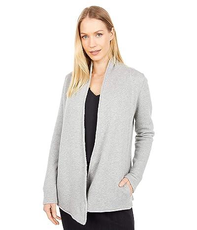 PACT Organic Cotton Cozy Cardigan (Heather Grey) Women