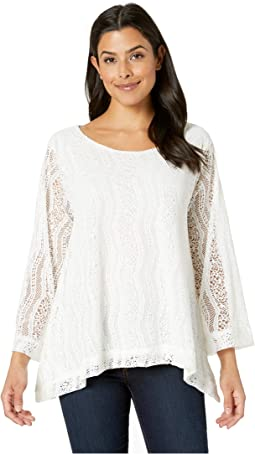 Lace Lined Trapeze Top