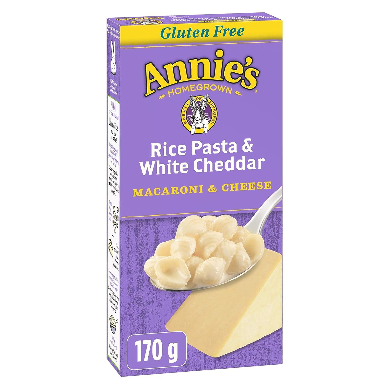 Annie's Homegrown Gluten Free Rice Cheddar Shipping New Pasta White Macaron High order