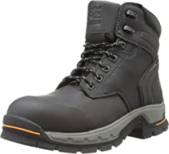"""Timberland PRO Men's 6"""" Stockdale GripMax Alloy-Toe Work and Hunt Boot"""