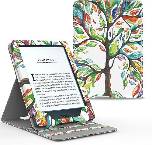 MoKo Etui Amazon Kindle Paperwhite - étui de Retournement Vertical pour Amazon Kindle Paperwhite avec rétro-éclairage...
