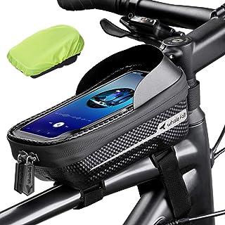 whale fall Waterproof Bike Frame Bag Bike Phone Bag...