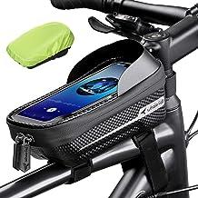 کیف دوچرخه ضد آب ضد آب سقوط Whale کیف دوچرخه تلفن دارنده تلفن همراه دوچرخه برای GPS - قاب کیف دوچرخه صفحه نمایش لمسی مقاوم در برابر فشار Eva Navi کیف دستی صفحه نمایش لمسی با آفتابگیر و پوشش باران