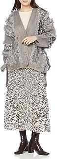 Snidel 毛绒蕾丝针织开衫 SWNT214045 女士