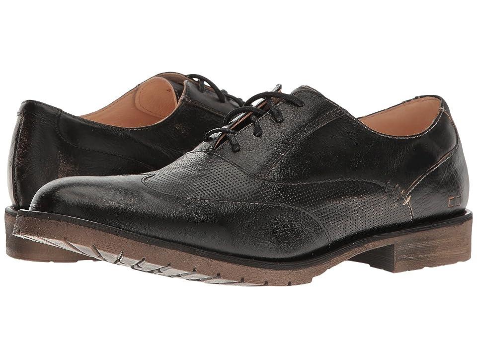 Bed Stu Gibson (Black Handwash Leather) Men