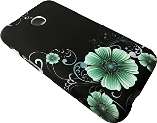 For TracFone Alcatel Pixi Unite A466BG Soft Flexi TPU Skin Protective Case Phone Cover + Gift Stand (TPU Midnight Flower)