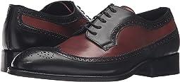 Black/Cognac Leather