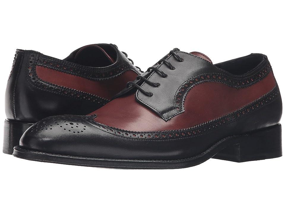 Messico Doroteo Welt (Black/Cognac Leather) Men