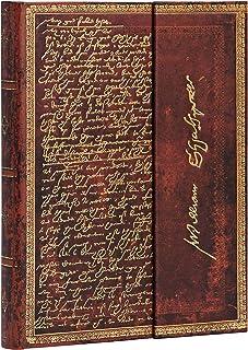 Paperblanks Diari a Copertina Rigida Shakespeare, Sir Tommaso Moro | Righe | Midi (130 × 180 mm)