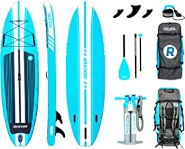 iROCKER All-Around Inflatable Stand Up Paddle Board 10'/11' Long 32