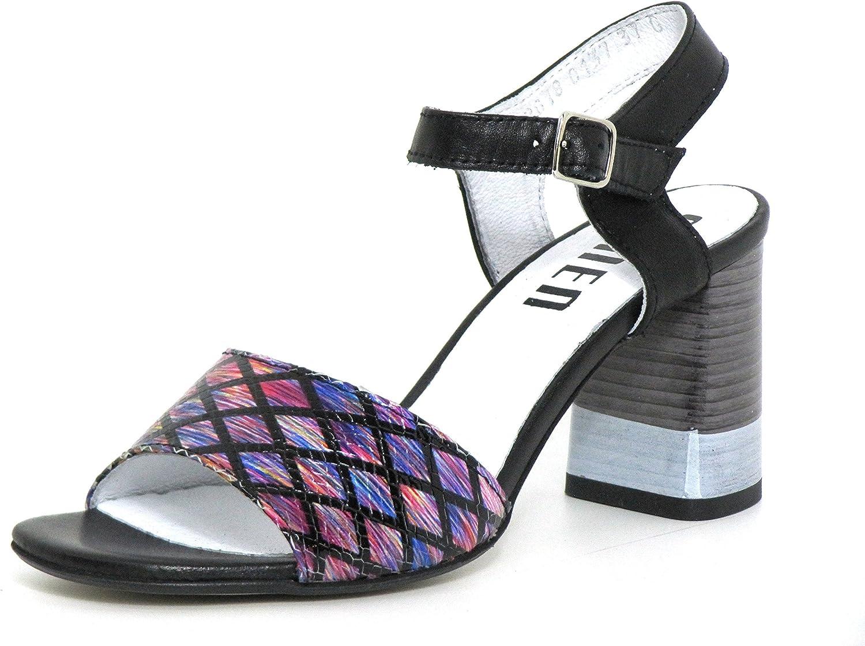 Simen Women Sandals purple, (black) 137A