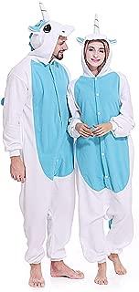 Adult Unicorn Onesie Pajamas Unisex Christmas Costume Sleepwear for Women Men