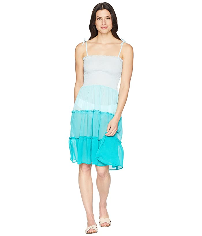 cbcab76fa3 Bleu Rod Beattie Smocked Bandeau Tiered Dress Cover-Up at 6pm