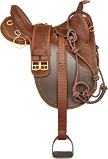 Y&Z Enterprises Synthetic Suede Australian Stock Saddle Tack and Accessaries Size- 16