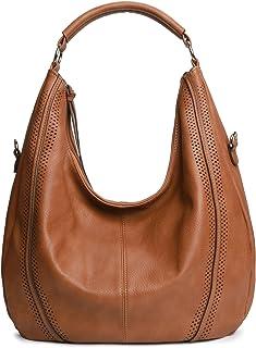 Women Hobo Bags Oversized Leather Purse Handbags PU Crossbody Shoulder Totes Winter Stylish Purses