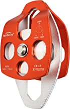 Ito Rocky 30kN & 32kN CE Certified Large Rescue Pulley Single & Double Sheave with Swing Plate