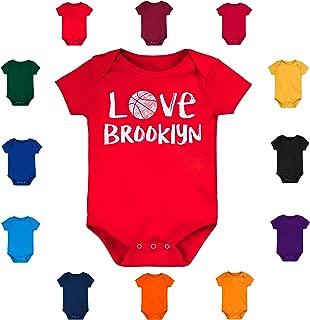 Future Tailgater Brooklyn Loves Basketball Baby Bodysuit Onesie