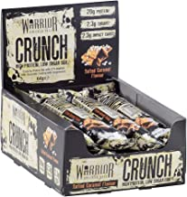 Warrior Crunch Protein Bar – High Protein Snack – Salted Caramel – 12x64g Bars Estimated Price : £ 17,99