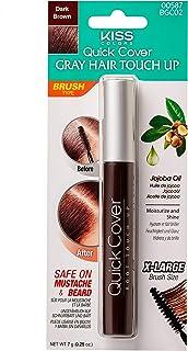 KISS Brush In Hair Colour BGC02, Dark Brown, 7 gm