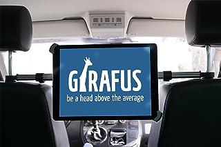 Girafus Tablet Kfz Kopfstützen Halterung Mitte / 9,5 bis 14,5 Zoll /–für / iPad Pro 12.9'', Galaxy TabPro S, MS Surface 12.3'' und größer / Relax H3   Rücksitz Halter Auto Universal