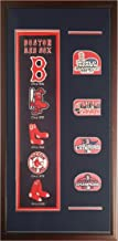Encore Boston Red Sox Deluxe Framed Logo History Felt and Patches 20
