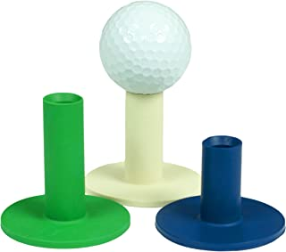 JEF WORLD OF GOLF Gifts and Gallery, Inc. Rubber Tees (Pack of 3)