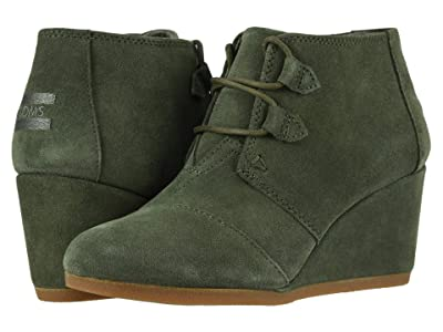 TOMS Kala (Dusty Olive Suede) Women