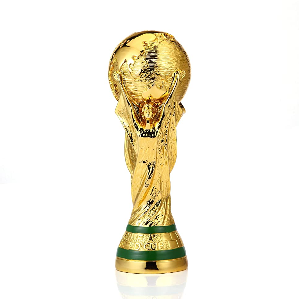 とシャンパン矢印原寸大 トロフィー レプリカ サッカー ワールドカップ 優勝トロフィー MGC JAPAN TRADE