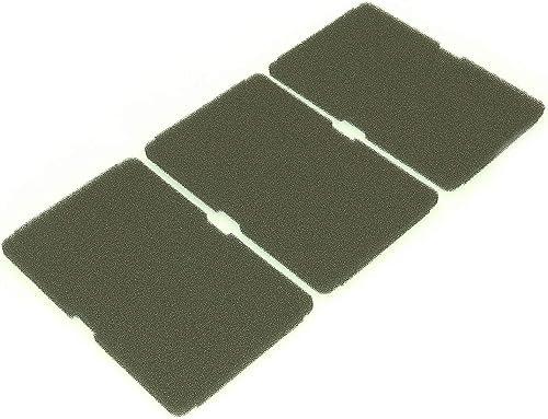 LUTH Premium Profi Parts - Lot de 3x filtres pour sèche-linge 240 x 155 mm | Convient pour Beko 2964840100