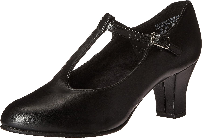 Capezio Womens Jr. Footlight T-Strap Dance shoes