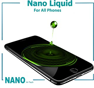 Original Nano Liquid Screen Protector, Scratch Resistant 9H Hardness for All Smartphones, Tablets, Watches Glasses, Cameras. Nano Coating (Original, Regular 1 ml)