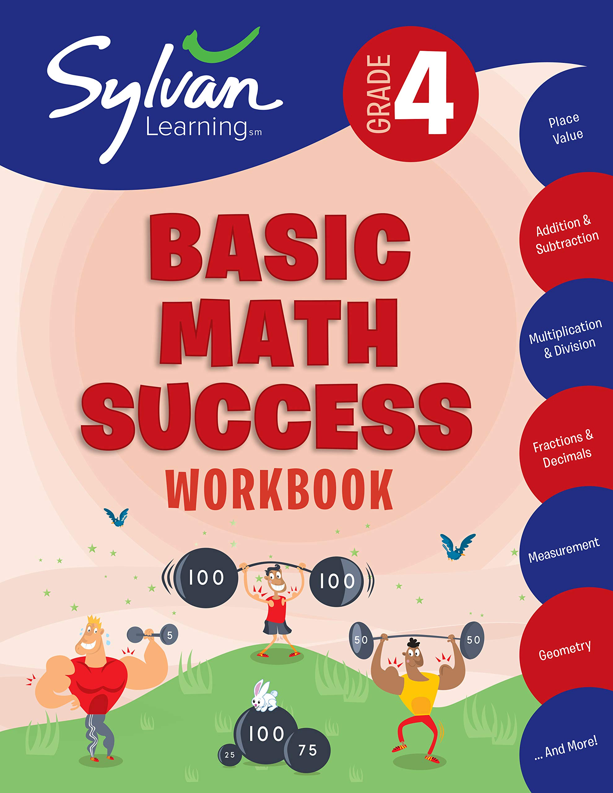 Download 4th Grade Basic Math Success Workbook: Activities, Exercises, And Tips To Help Catch Up, Keep Up, And Get Ahead 