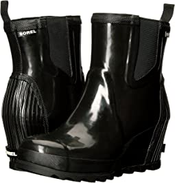 SOREL Joan Rain Wedge Chelsea Gloss