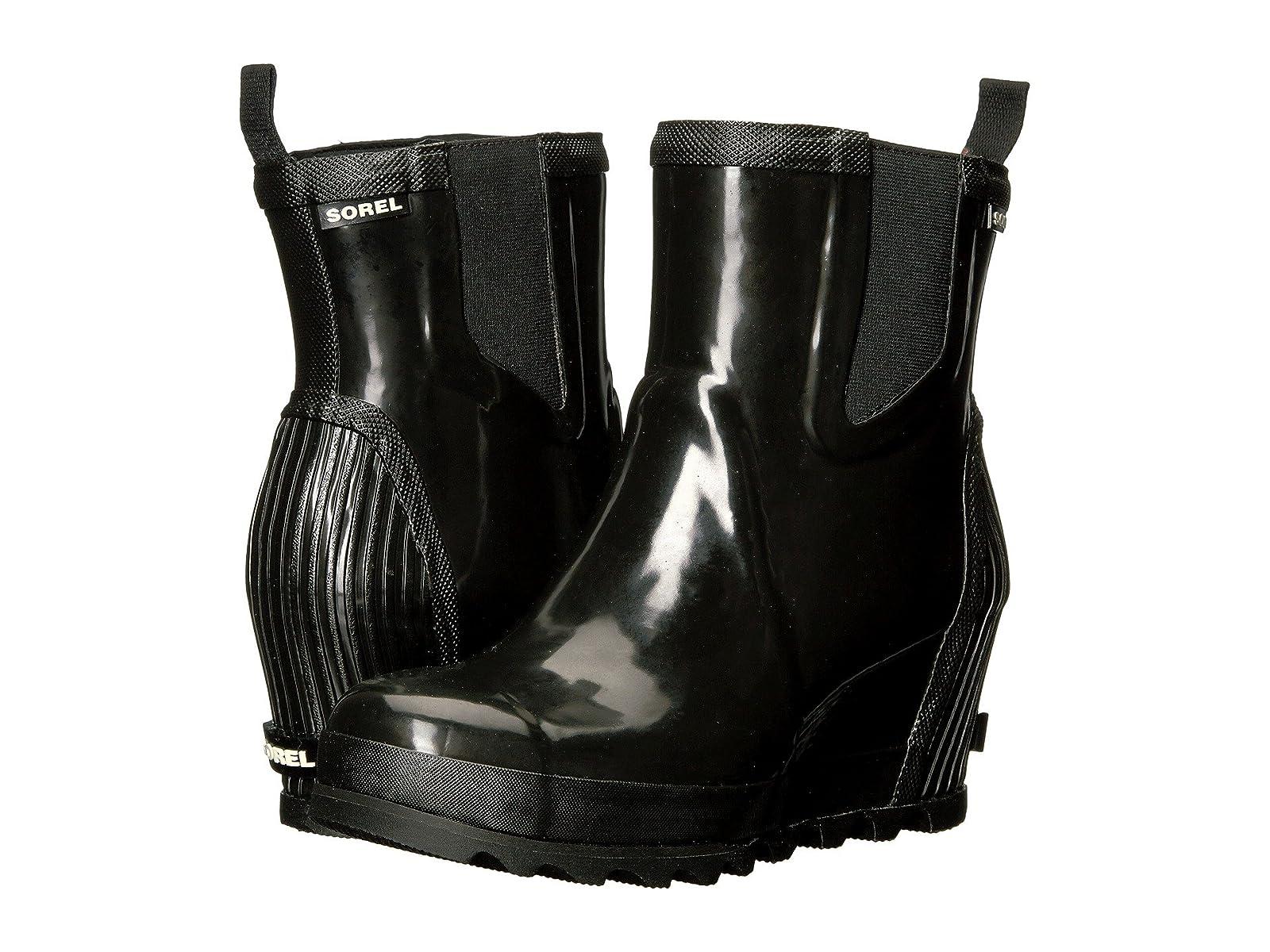 SOREL Joan Rain Wedge Chelsea GlossEconomical and quality shoes