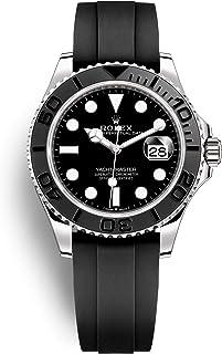Rolex Yacht-Master 42 White Gold/Oysterflex Bracelet/ 226659-0002 / Black Dial