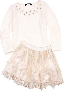 Biscotti Girls' Sweet Soiree Sweater and Skirt Set, Sizes 4-16