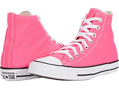 Converse Chuck Taylor All Star Seasonal Color Hi (Hyper Pink) Lace up casual Shoes